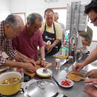 男の料理教室!!